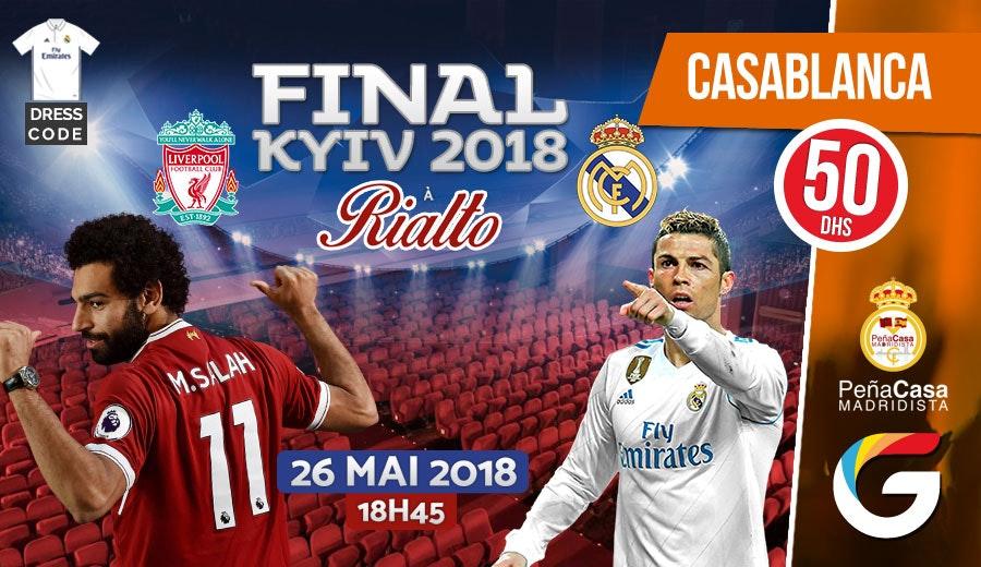 Vivez la finale de la Ligue des champions en clair au cinéma RIALTO Real Madrid contre Liverpool le 26 Mai