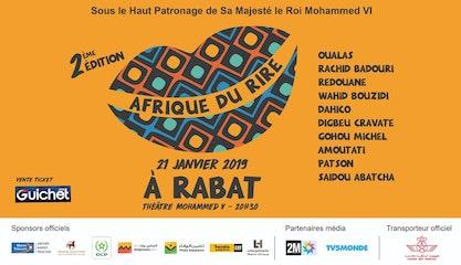 Festival Afrique du rire - GALA de Rabat