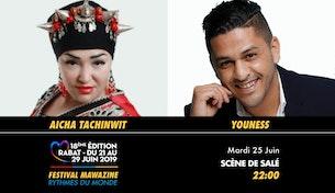 Festival Mawazine - Aicha Tachinwit & YouNess