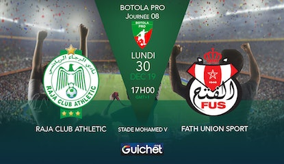 Raja Club Athletic VS Fath Union Sportif