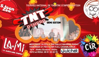 TNT d'Improvisation – Mercredi 19 Fév - RABAT
