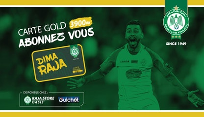Raja Club Athletic - La Carte GOLD