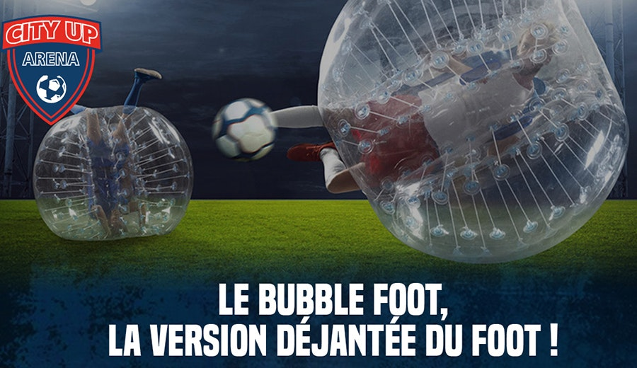 BUBBLE FOOT BY CITY UP ARENA