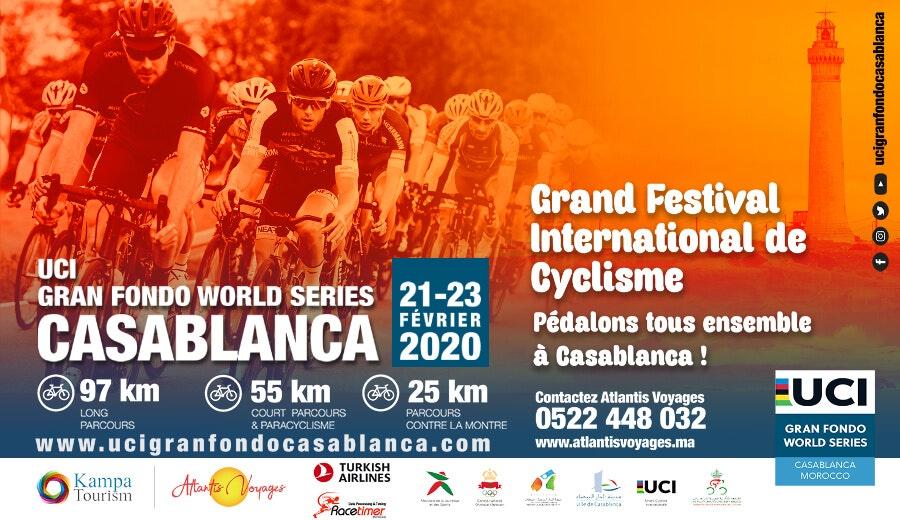 Grand Festival International de Cyclisme à Casablanca
