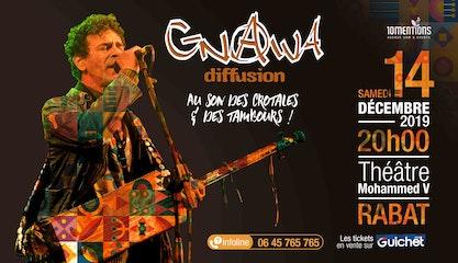 GNAWA DIFFUSION en concert à Rabat