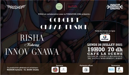 Concert Gnawa Fusion RISHA / INNOV-GNAWA