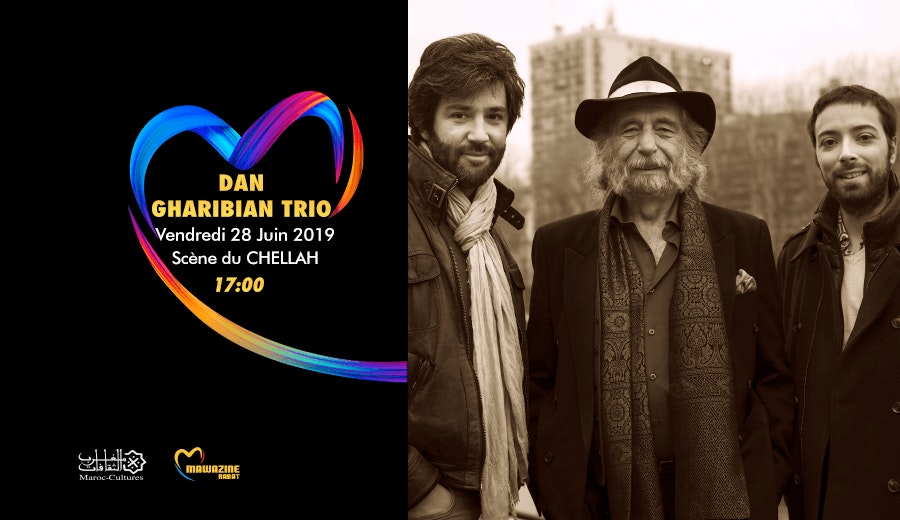 Festival Mawazine - Dan Gharibian Trio
