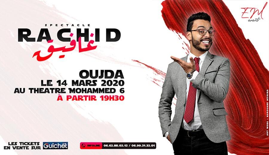 Spectacle Rachid Ghafik à Oujda
