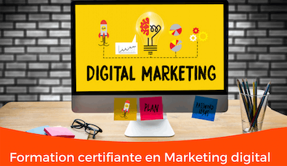 Formation en Marketing digital 100% pratique