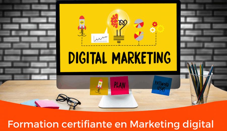 Formation en Marketing digital 100% pratique