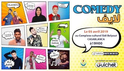 Comedy LIFE à Casablanca