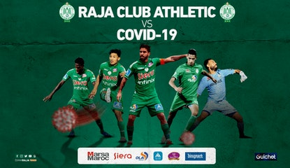 Raja Club Athletic contre le Covid-19