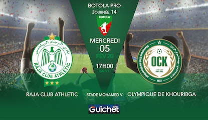 Raja Club Athletic VS Olympique Khouribga