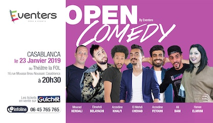 Open Comedy - Saison 1