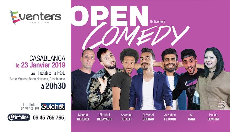 Open Comedy - Saison 1