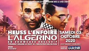 Heuss L'Enfoiré & L'Algérino en Showcase