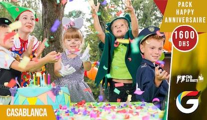 Offrez votre enfant une journée plein d'émotions et de sensations fortes avec le pack anniversaire Le Barry !