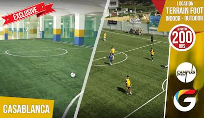 Campus sport : Location terrain foot ! Venez vous affronter durant un match de foot