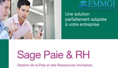 Formation : SAGE PAIE & RH