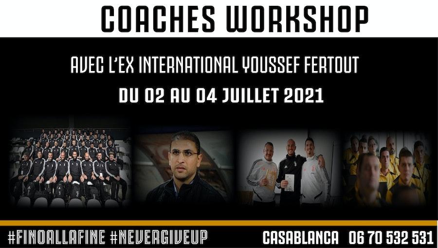 Coaches Workshop du 2 AU 4 JUILLET 2021