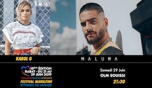 Festival Mawazine - KAROL G / MALUMA