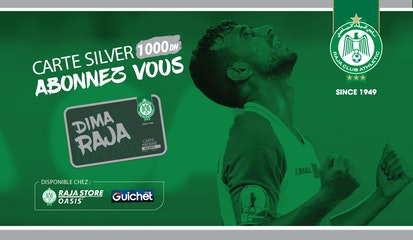 Raja Club Athletic - La Carte SILVER