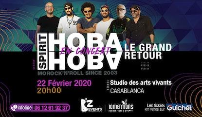 Hoba Hoba Spirit en Concert à Casablanca