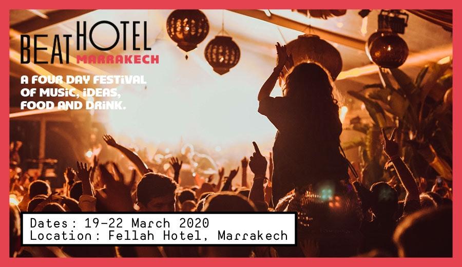The Beat Hotel Marrakech 2020
