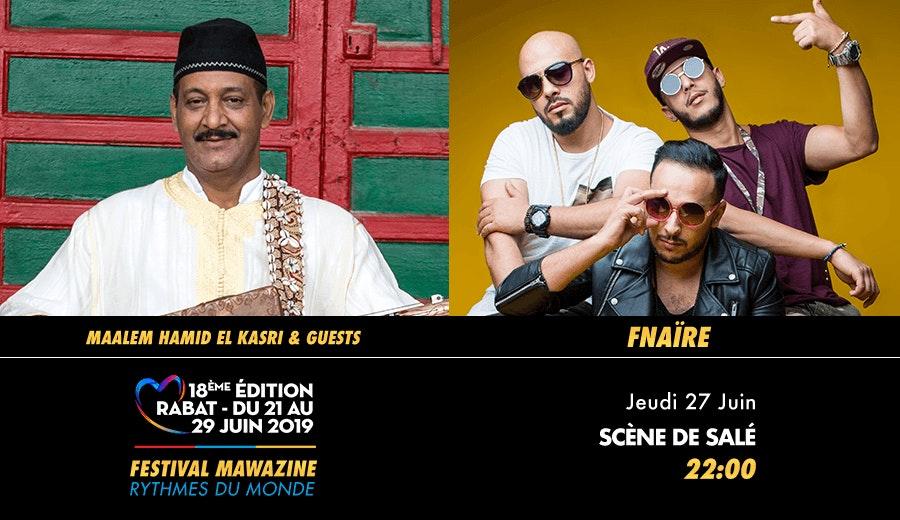 Festival Mawazine - Maâlem Hamid El Kasri & Guests / Fnaïre