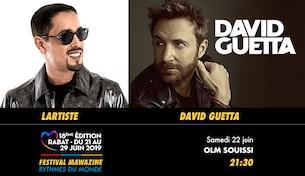 Festival Mawazine - LARTISTE / DAVID GUETTA