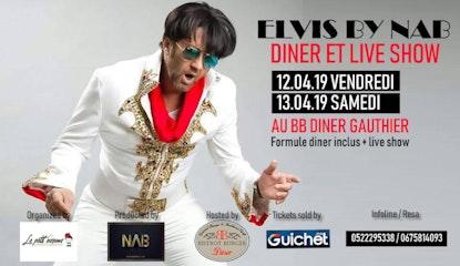 ELVIS BY LE NAB Live au Bistrot Burger Diner