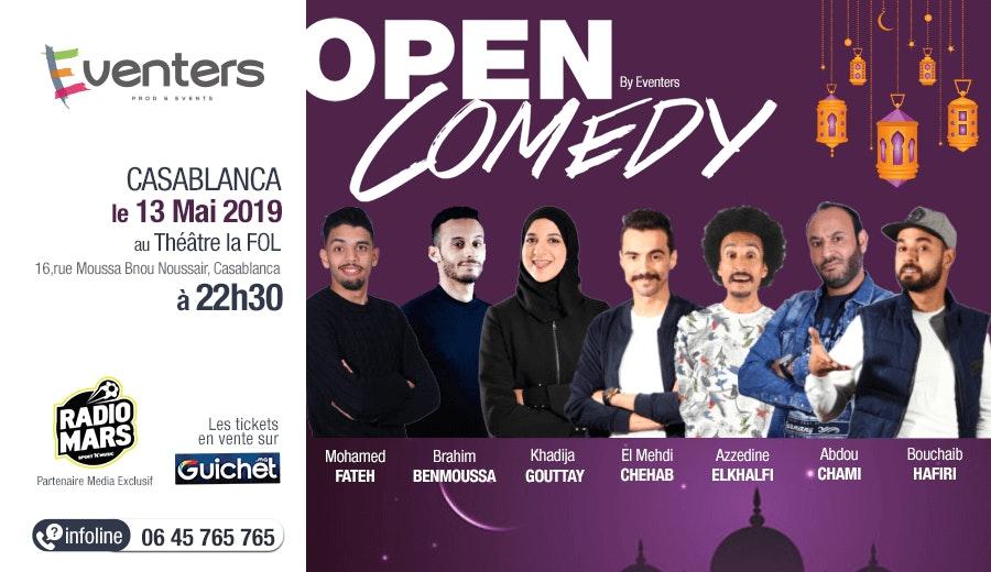 Open Comedy 5 - Spécial Ramadan