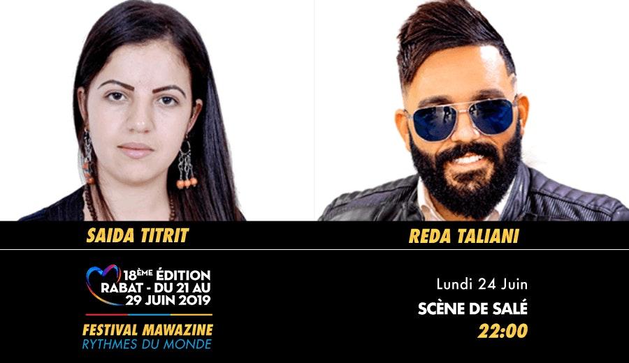 Festival Mawazine - Saida Titrit & Reda Taliani