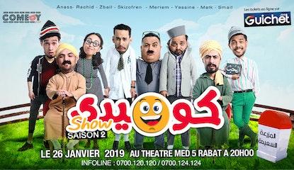 Comedy Show Saison 2 à Rabat