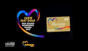 Festival Mawazine - La Carte Fast Gold