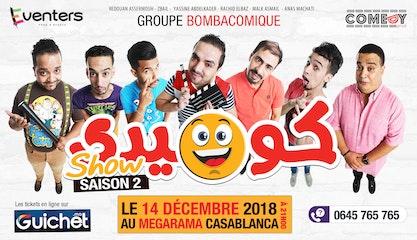 Comedy Show Saison 2 à Casablanca