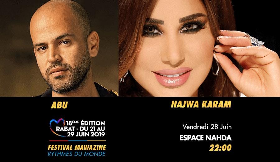 Festival Mawazine - Abu & Najwa Karam