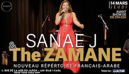 Sanae Jabrane & the Zamane à L'Amstrong