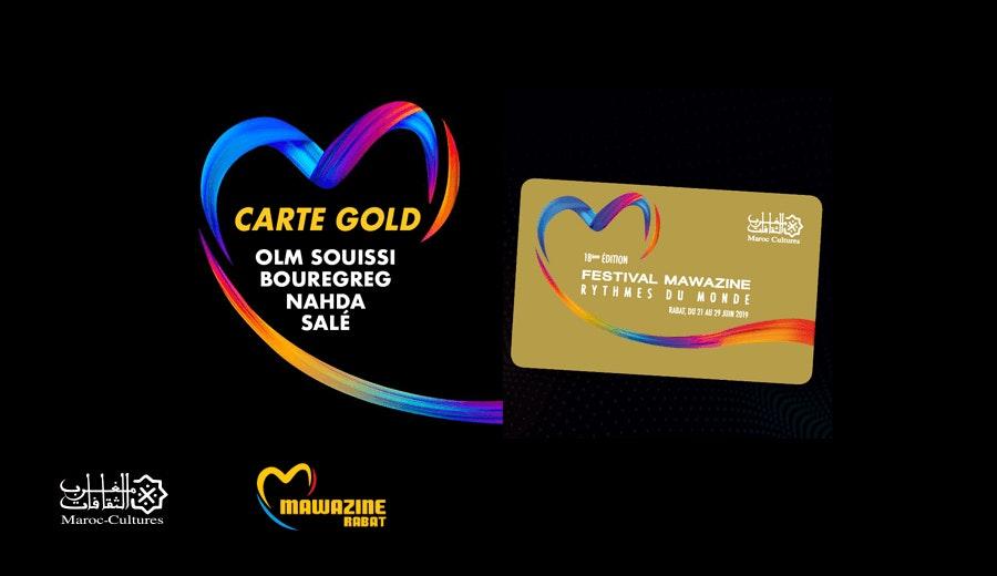 Festival Mawazine - La Carte Gold