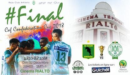 La finale de la CAF : RAJA CLUB ATHLETIC vs AS VITA CLUB