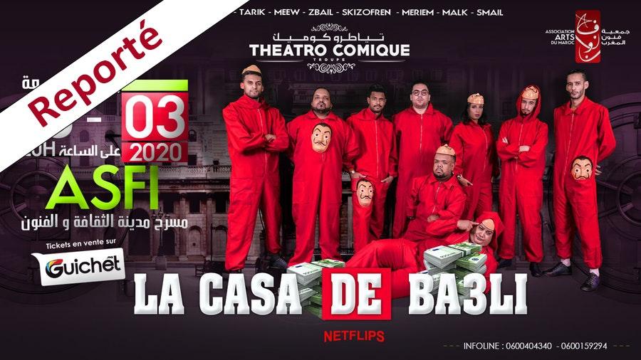La Casa De Ba3li - SAFI / Reporté
