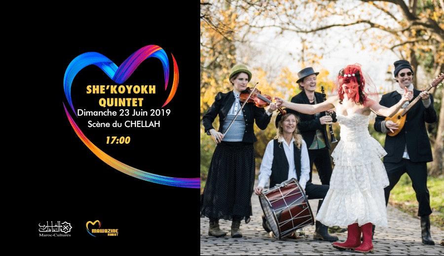 Festival Mawazine - She'Koyokh Quintet