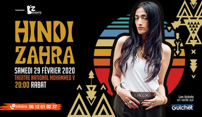 Hindi Zahra en concert exclusif à Rabat
