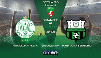 Raja Club Athletic VS Youssoufia de Berrechid