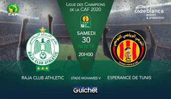 Raja Club Athletic VS Espérance de Tunis