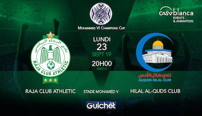 Raja Club Athletic VS Hilal Al-Quds
