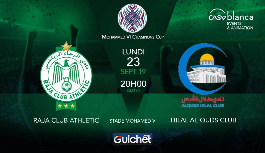 Raja Club Athletic VS Hilal Al-Quds