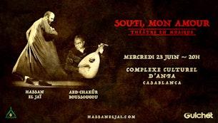 SOUFI, MON AMOUR  Casablanca