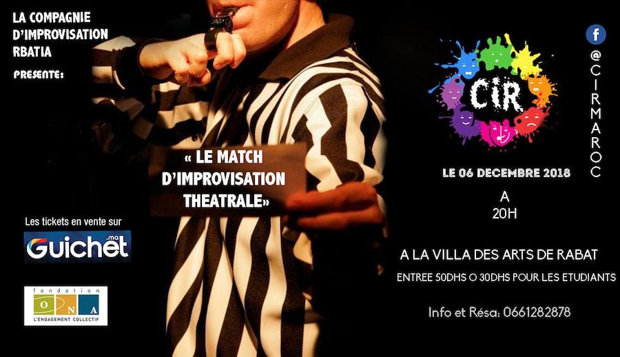 Match d'Improvisation Théâtrale, by La CIR