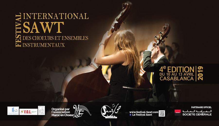 Concert de Clôture  4 ème Edition du Festival International SAWT des Chœurs et Ensembles Instrumentaux